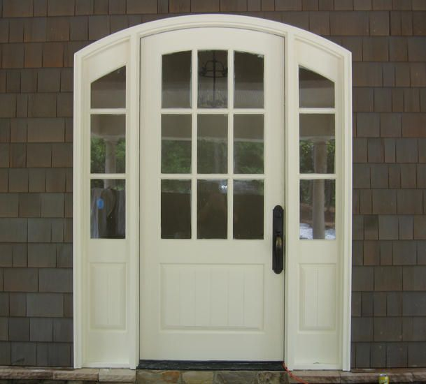 Custom Craftsman Segment Top Door Unit Wood Entry Doors By Decora Craftsman Door Garage Door Styles Craftsman Style Front Doors