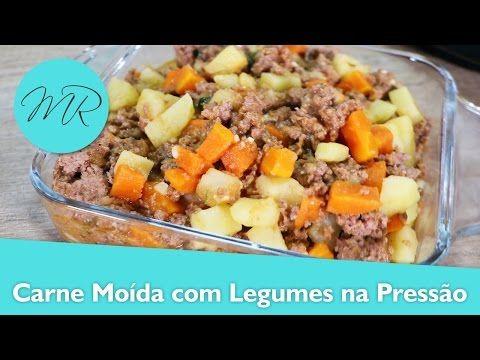 Carne Moida Com Legumes Na Panela De Pressao Eletrica Receitas
