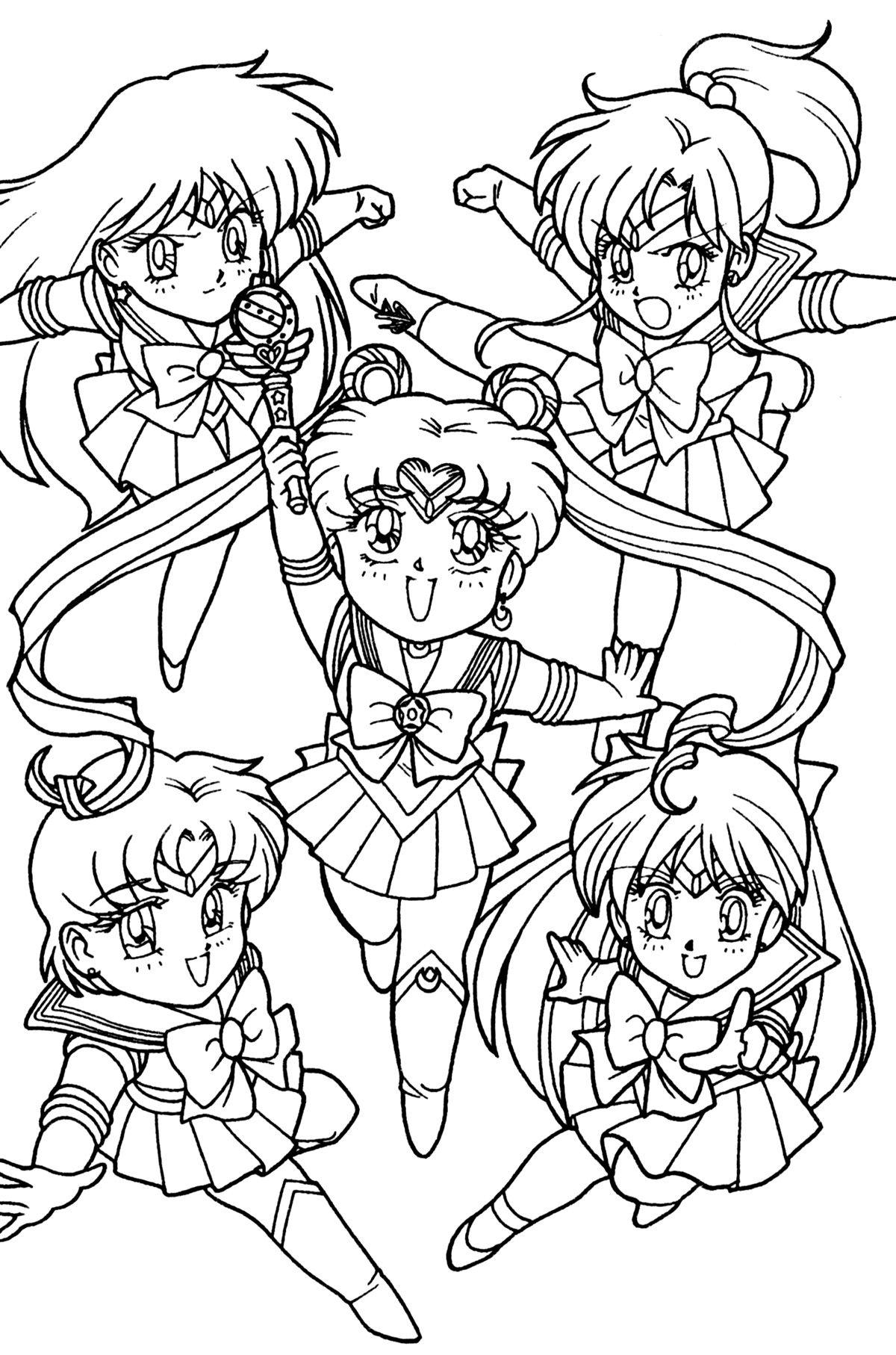 Sailor Chibi Sailor Moon Coloring Pages Sailor Moon Wallpaper Sailor Moon Character