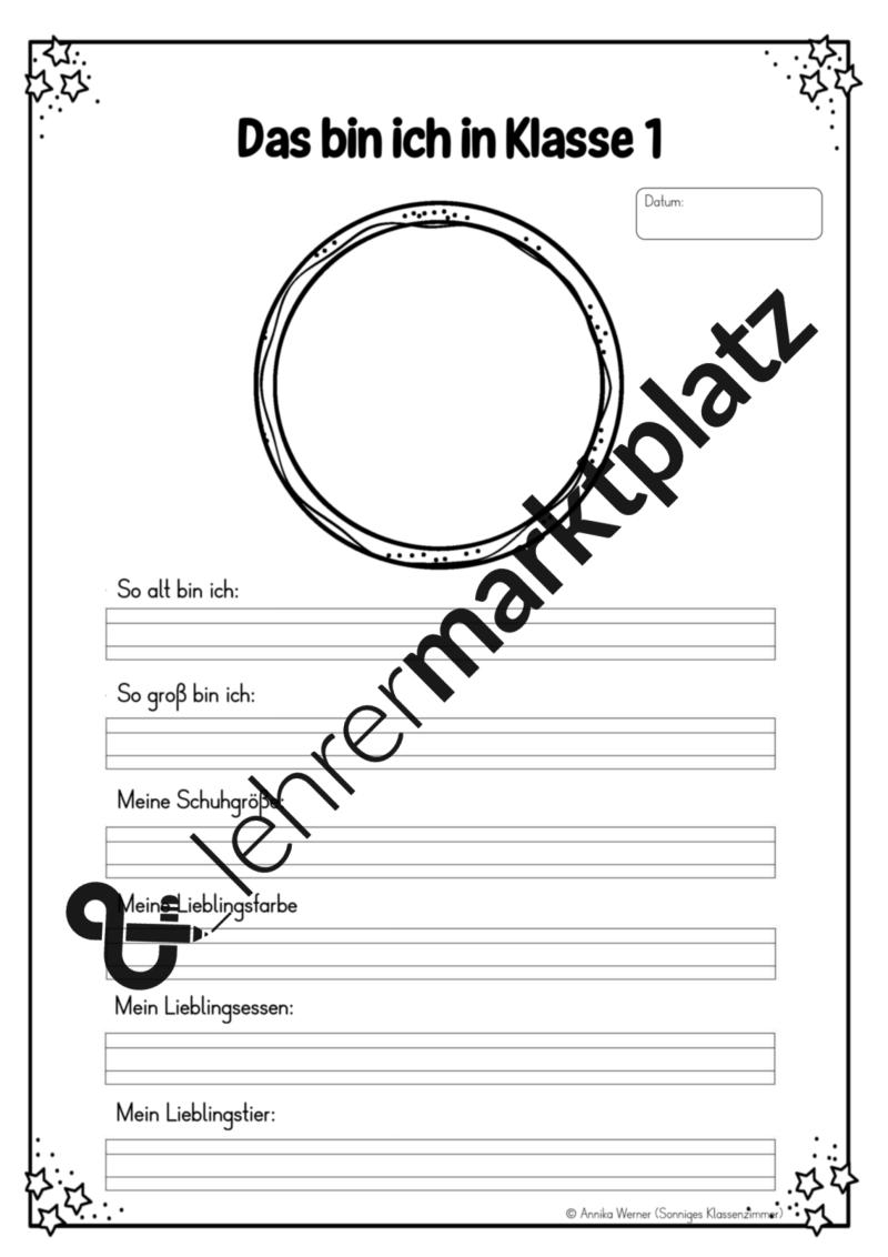 Erinnerungsheft Klasse 1-2 – Lehreralltag   Deutsch Klasse 2   Pinterest