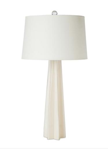 Glass Star Table Lamp White Regina Andrew Inspire Bedrooms