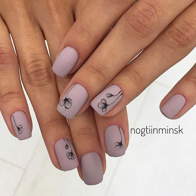39 Elegant Looks for Matte Nails Every Girl Will Want to Copy ...