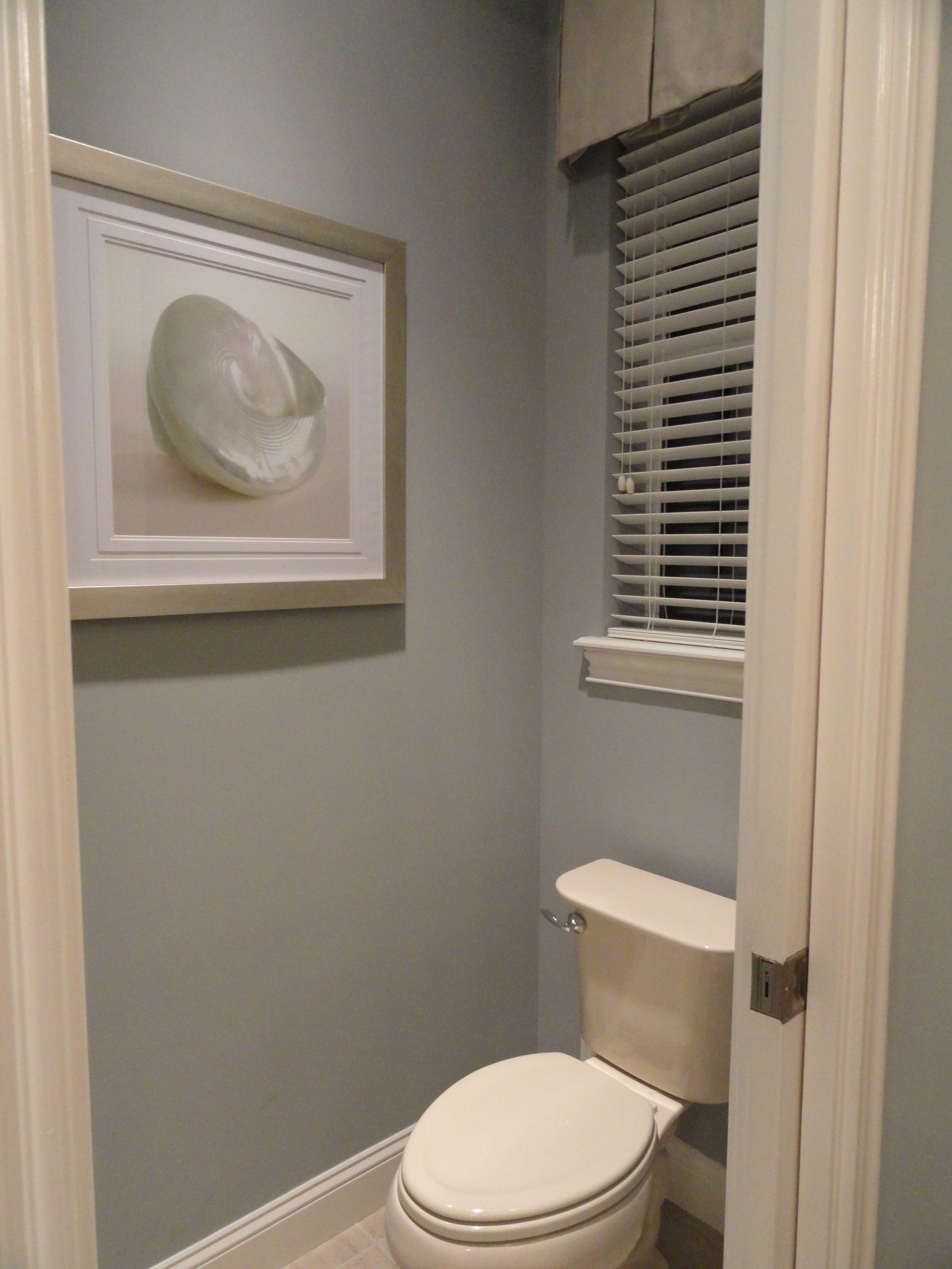 Master Water Closet I Need To Put A Small Valance Over The Tiny