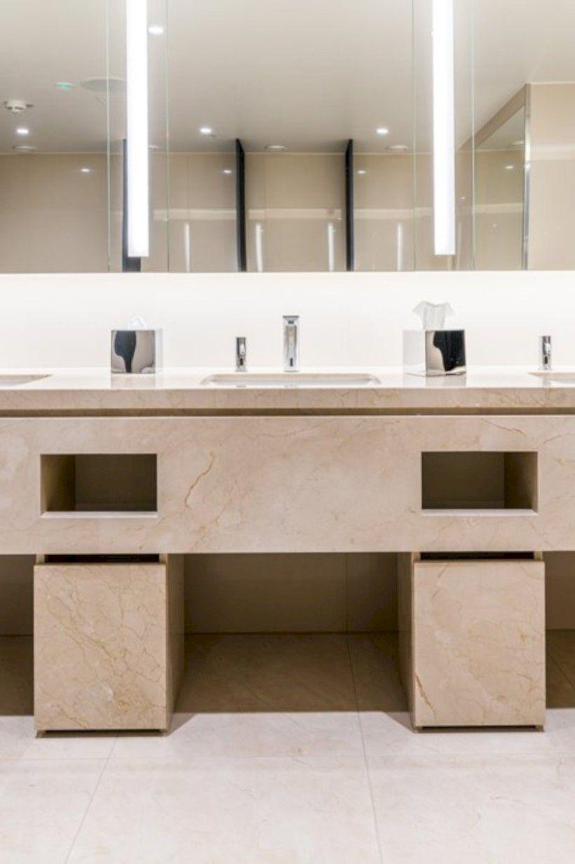 66+ Amazing Public Bathroom Design Ideas | Public bathrooms ...