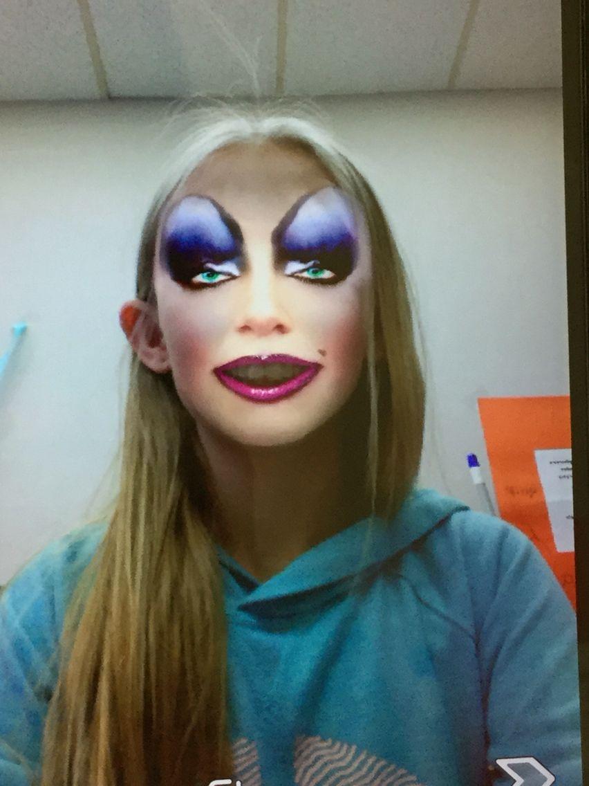 Ugly Makeup Face