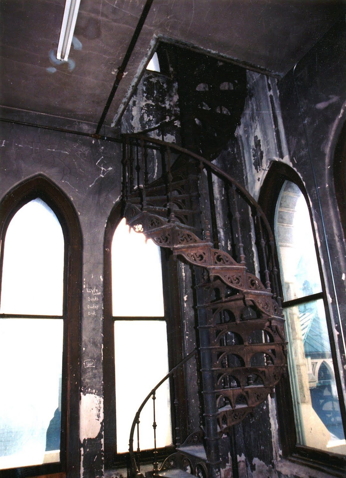 Best Three Famous Spiral Staircases In Richmond Spiral 400 x 300