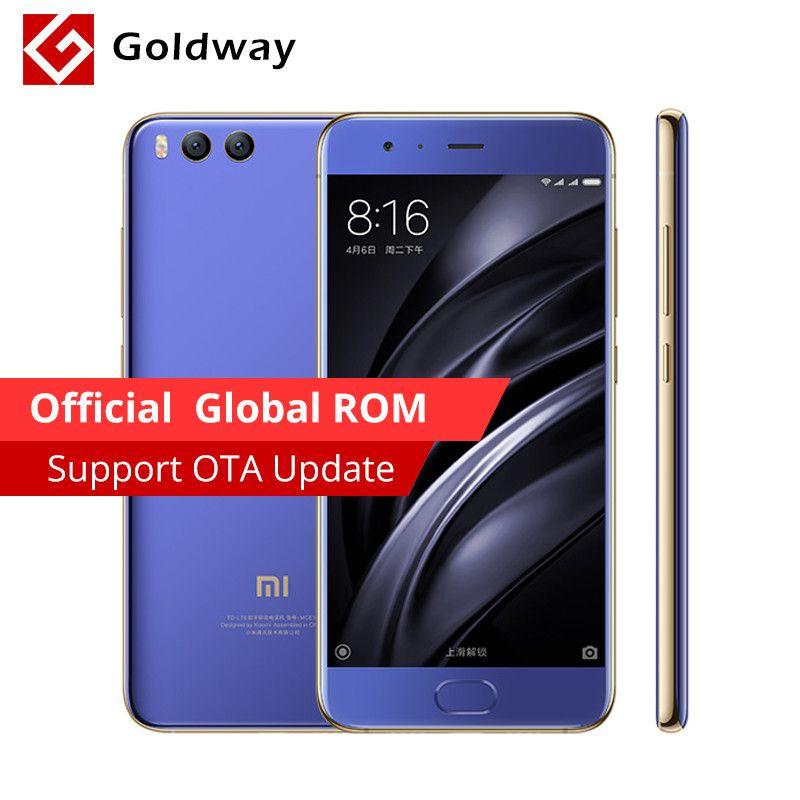 Original Xiaomi Mi6 Prime Mi 6 Mobile Phone 6gb Ram 128gb Rom Phone Mobile Phone Back Camera