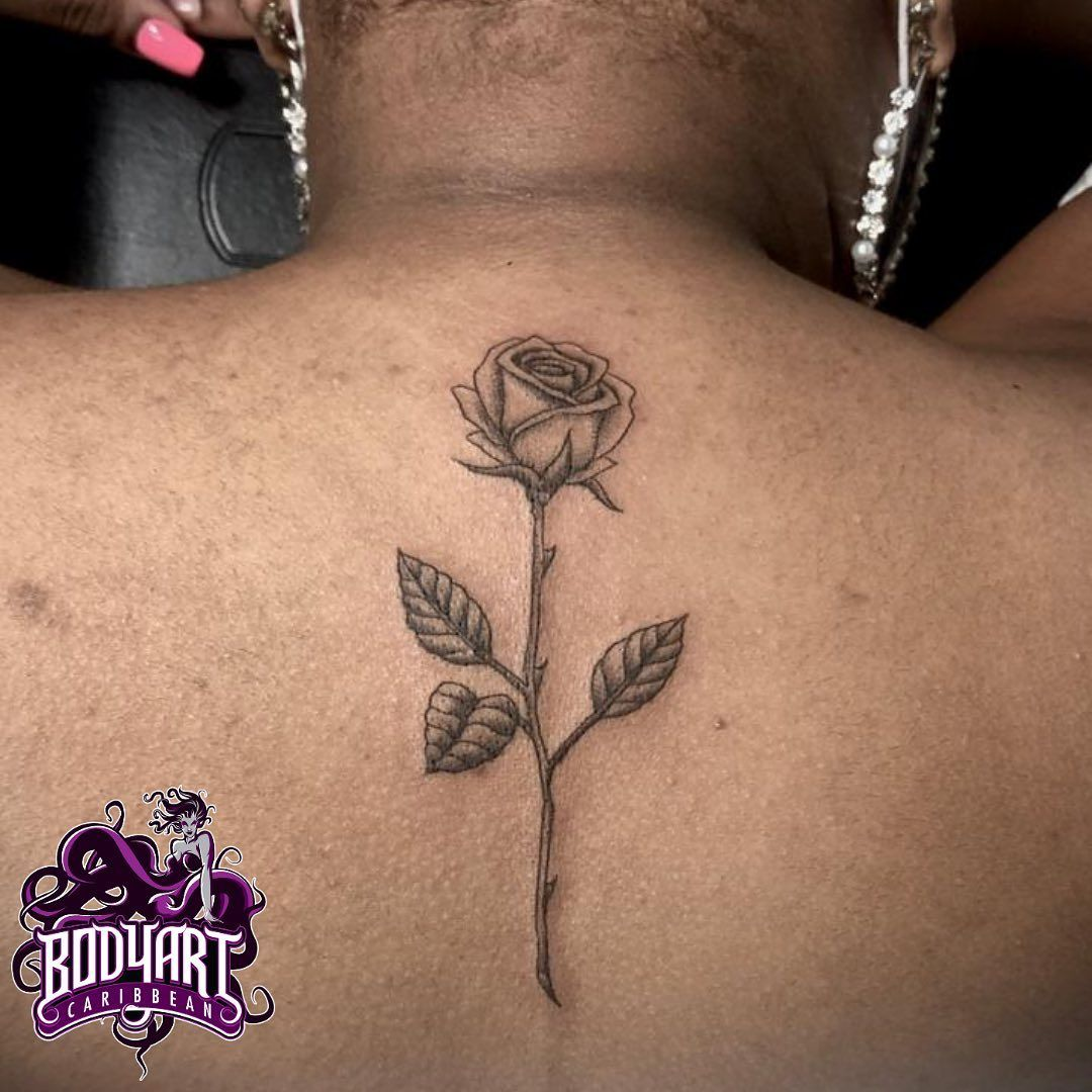 She is beauty - By Sofy🌹 WhatsApp or call 3651681 for an appointment or consultation #bac #bodyartcaribbean #trinidad #bodyart #trinidadtattoos #tattoo #tattoos #girls #girlswithtattoos #ink #inked #trinidadtattooartist #ariapitaave #rosetattoo #roses #love #darkskintattoos #darkskinbodyart #life #inkedgirls