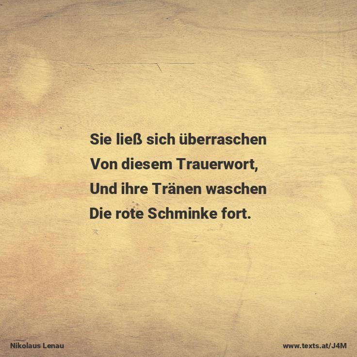 Der Schmerz Deutsche Gedichte Trauerworte Schmerz