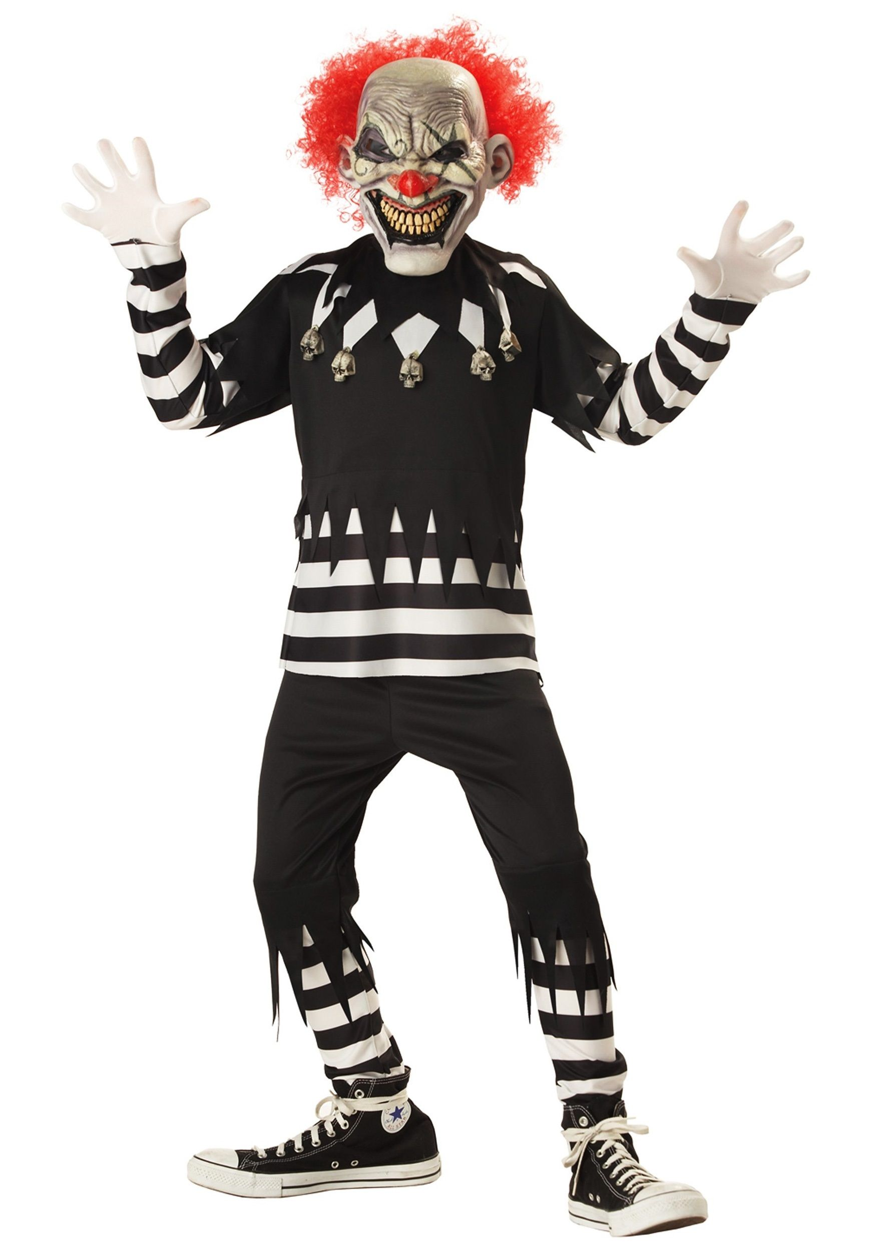 Kids Psycho Clown Costume | Costumes, Baby halloween costumes and ...
