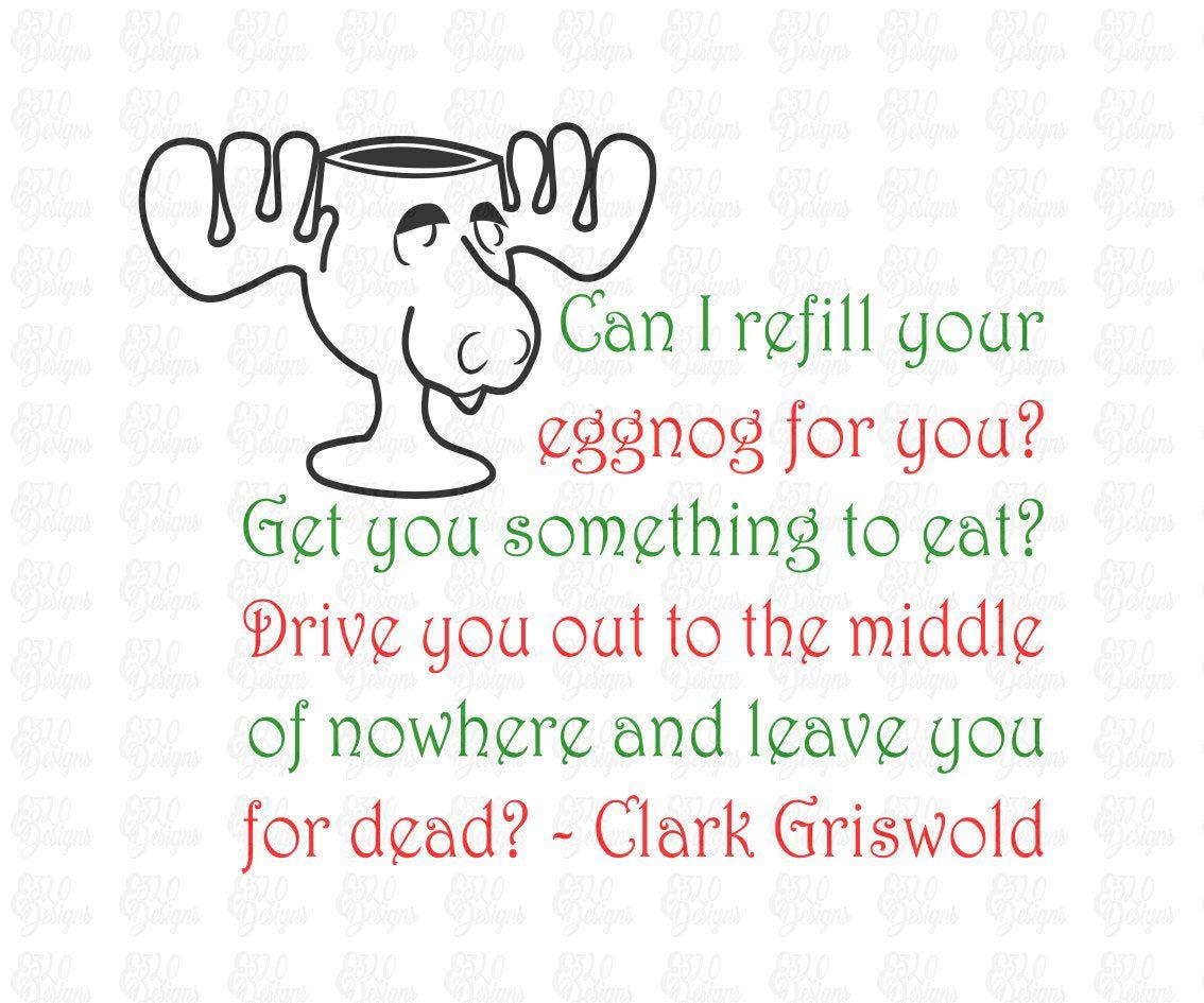 Moose Mug & Quote National Lampoon's Christmas Vacation
