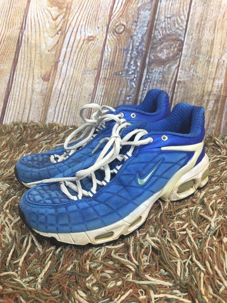 Vintage Nike Air Max Tailwind 97 96 Modular Plus Women Size 7 5 Rare Blue Fashion Clothing Shoes Accessories Womensshoes Vintage Nike Blue Nike Nike Air