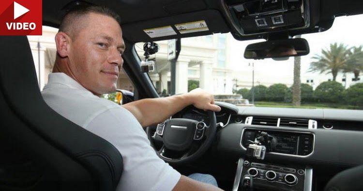 John Cena Plays The Chauffeur In A Range Rover Sport SVR [w/Video] #celebrities #Range_Rover