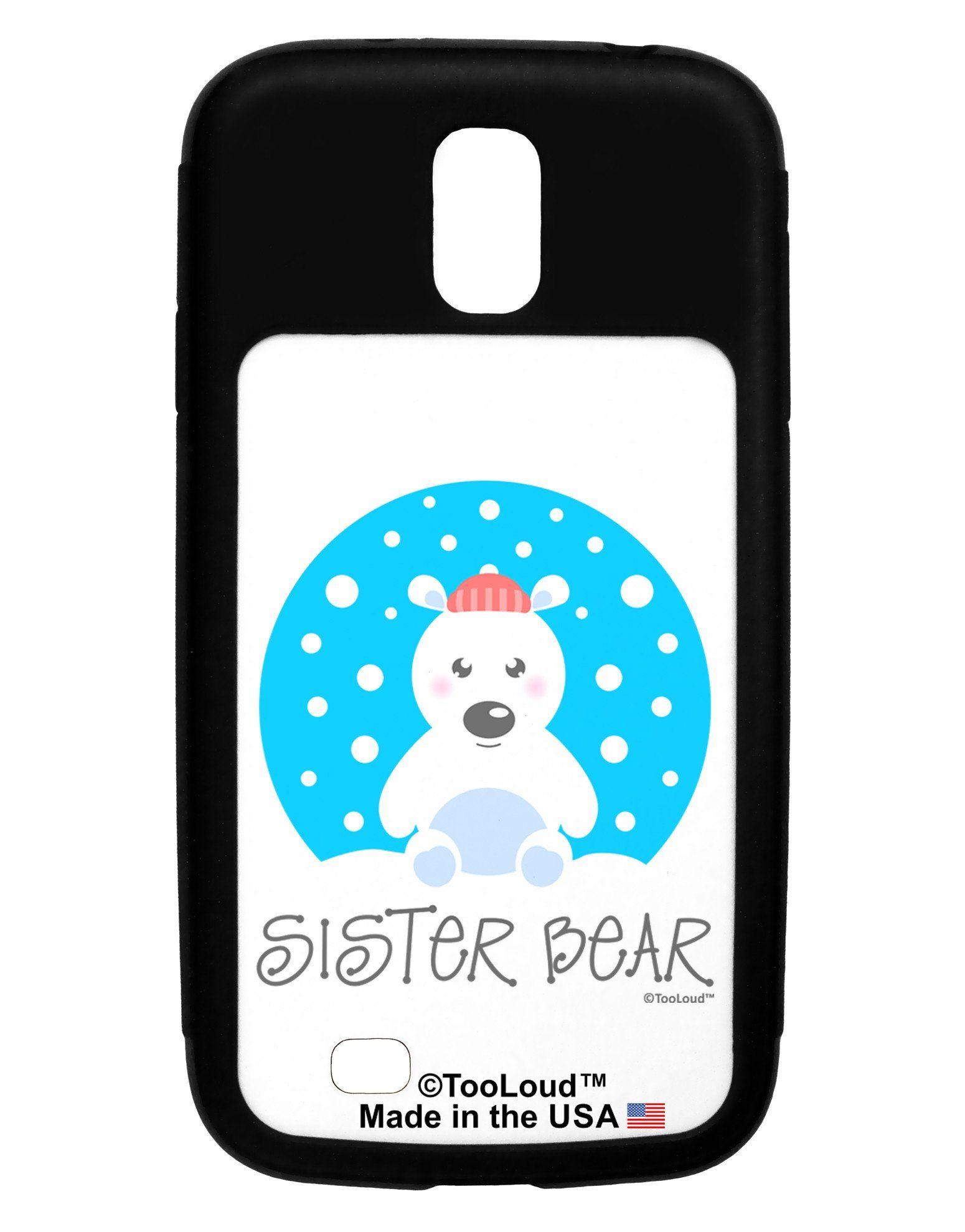 Matching Polar Bear Family - Sister Bear Galaxy S4 Case by TooLoud