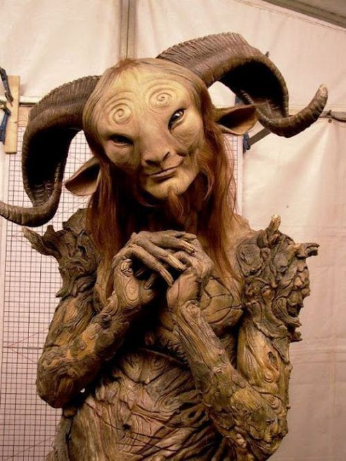 The process of bringing the faun from Pans Labyrinth to life