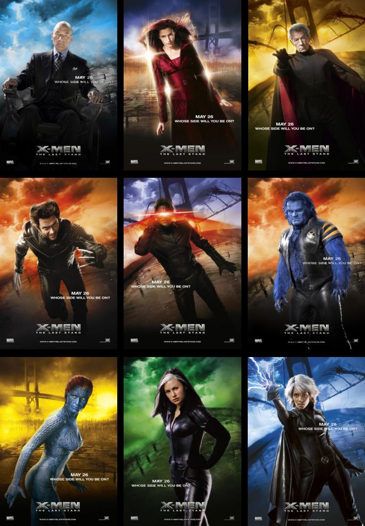 X Men The Last Stand X Men Last Stand Men