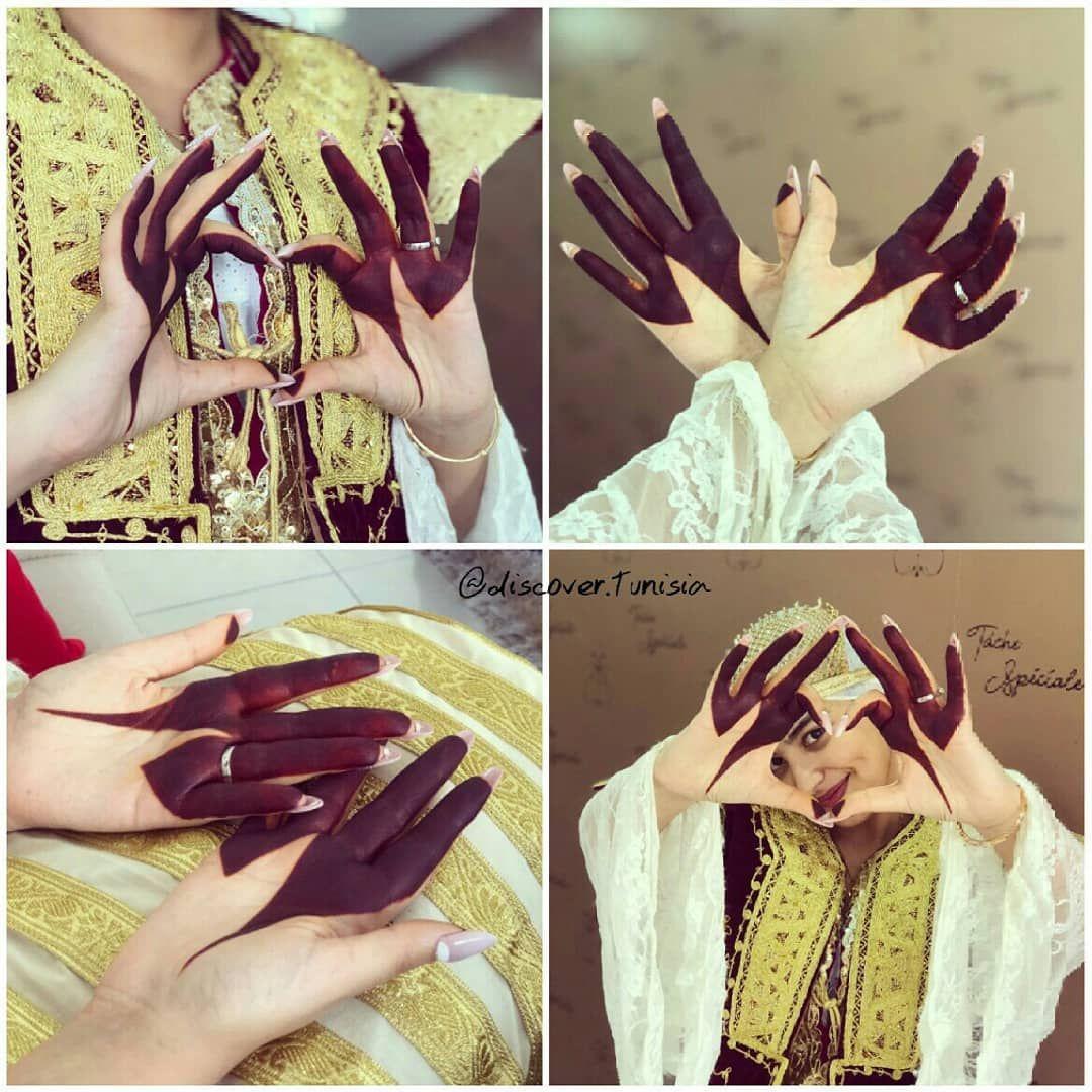 حنة السوالف التونسية الحنة التونسية حنة تونسية تونس Tunisian Henna Tunisianhenna Tu Arabic Henna Designs Floral Henna Designs Beginner Henna Designs