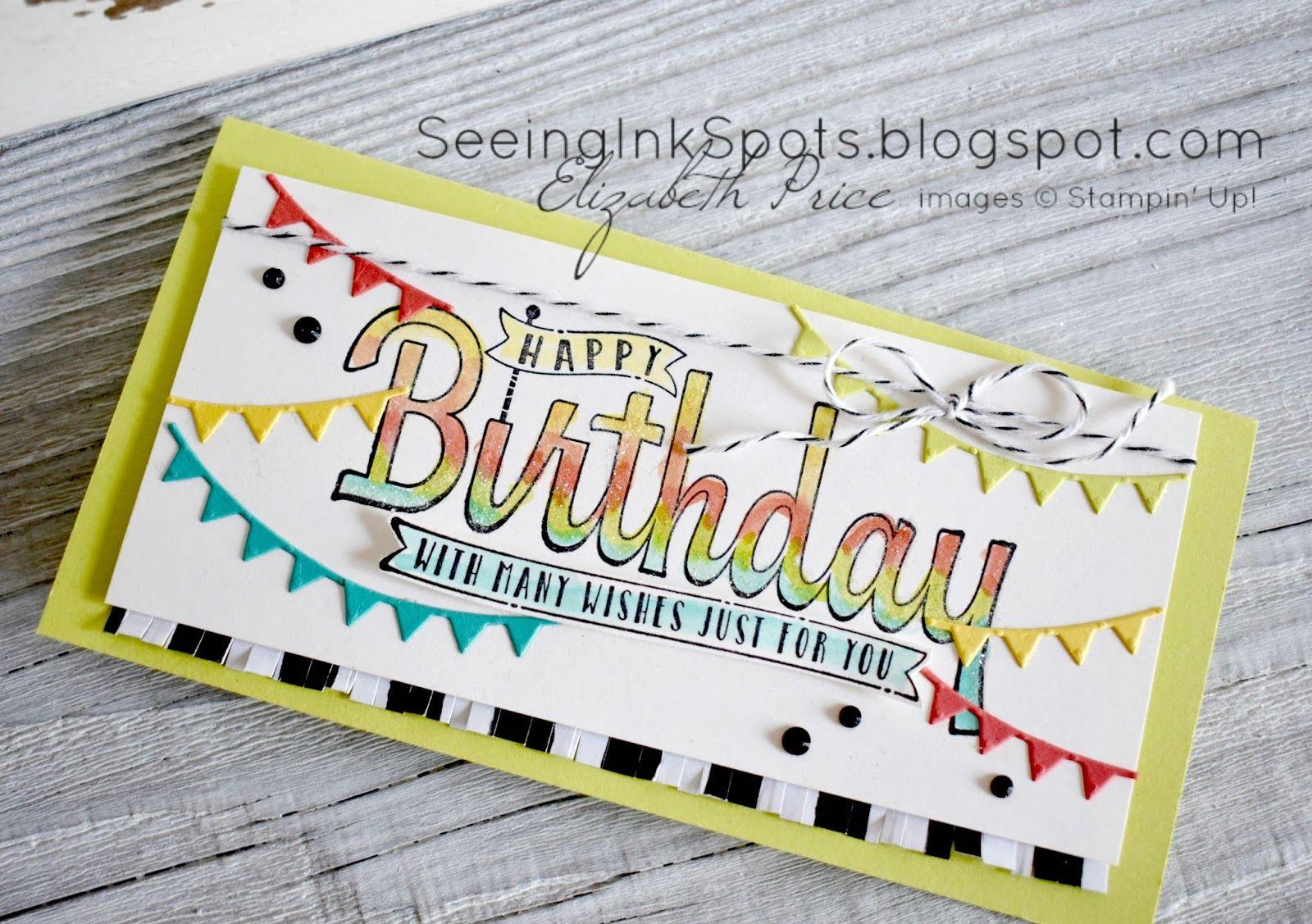 A New Happy Birthday | Pinterest | Handmade greetings, Scrapbooking ...