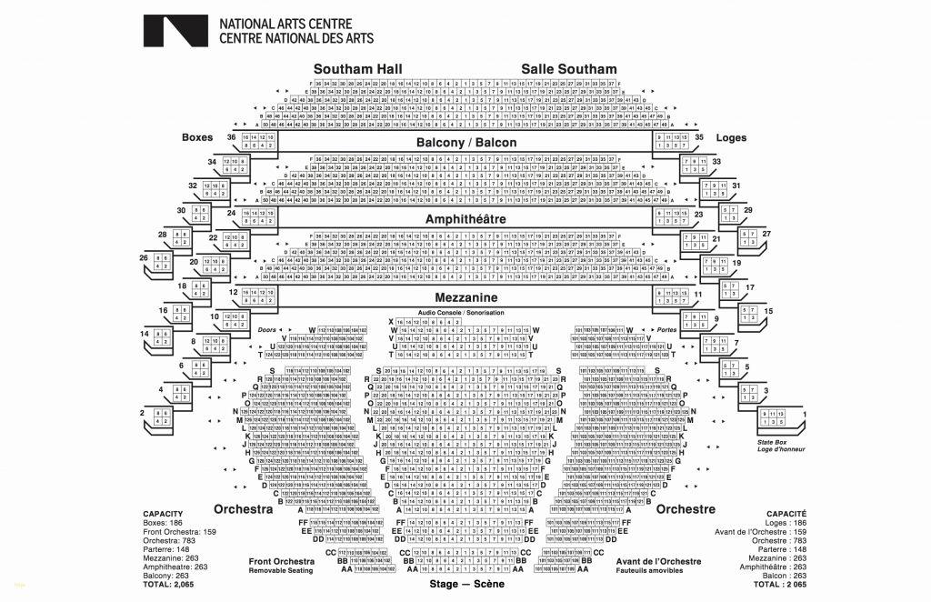 The Incredible Disney Hall Seating Chart