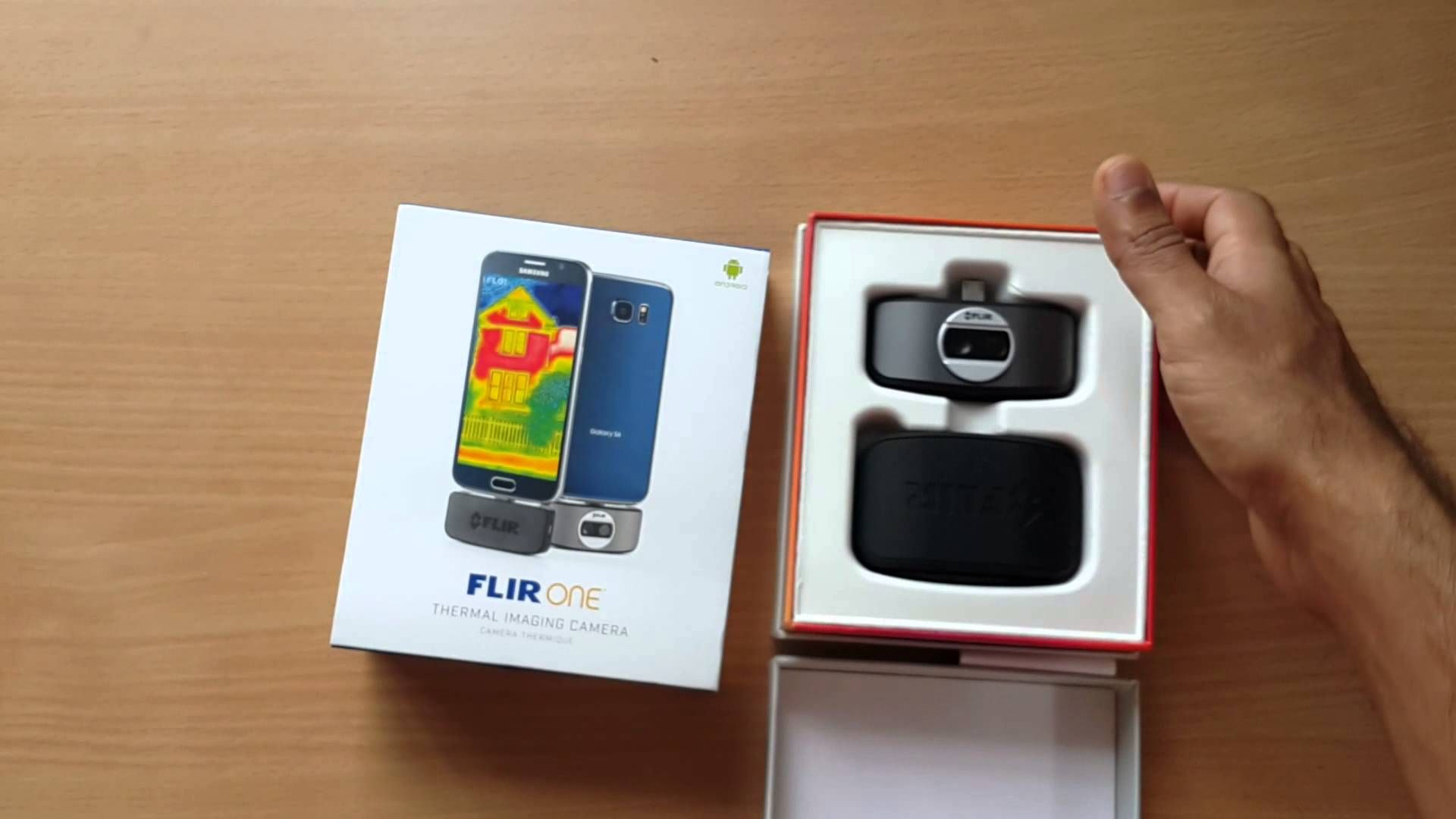 FLIR ONE is a mobile device thermal imager accessory. FLIR