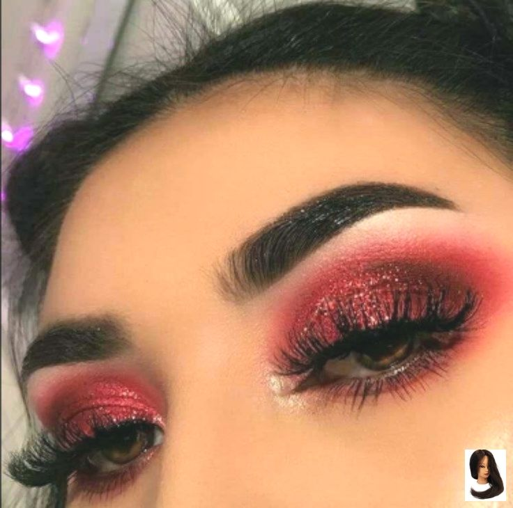 Photo of Red Valentine's Day Makeup – Dress Models