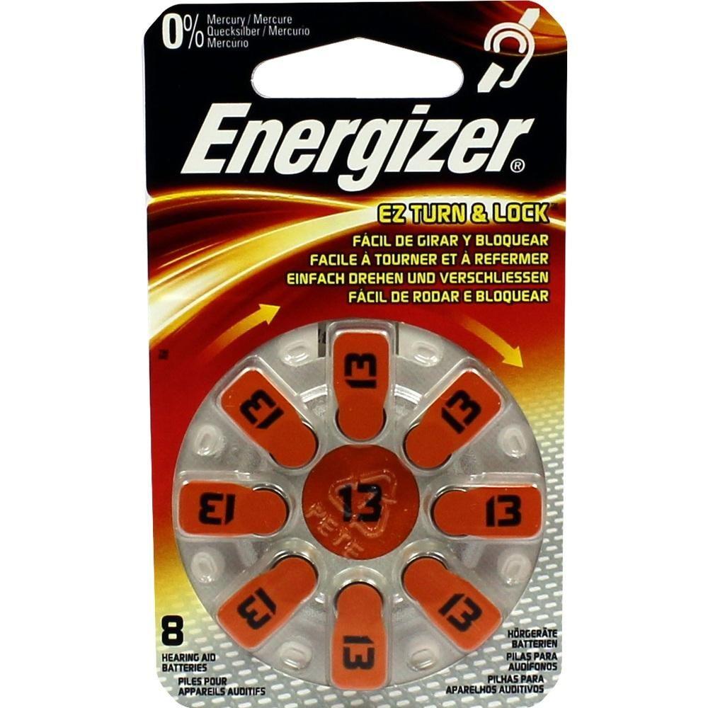 ENERGIZER Hörgerätebatterie 13:   Packungsinhalt: 8 St PZN: 09755645 Hersteller: Wellneuss GmbH & Co. KG Preis: 4,53 EUR inkl. 19 % MwSt.…