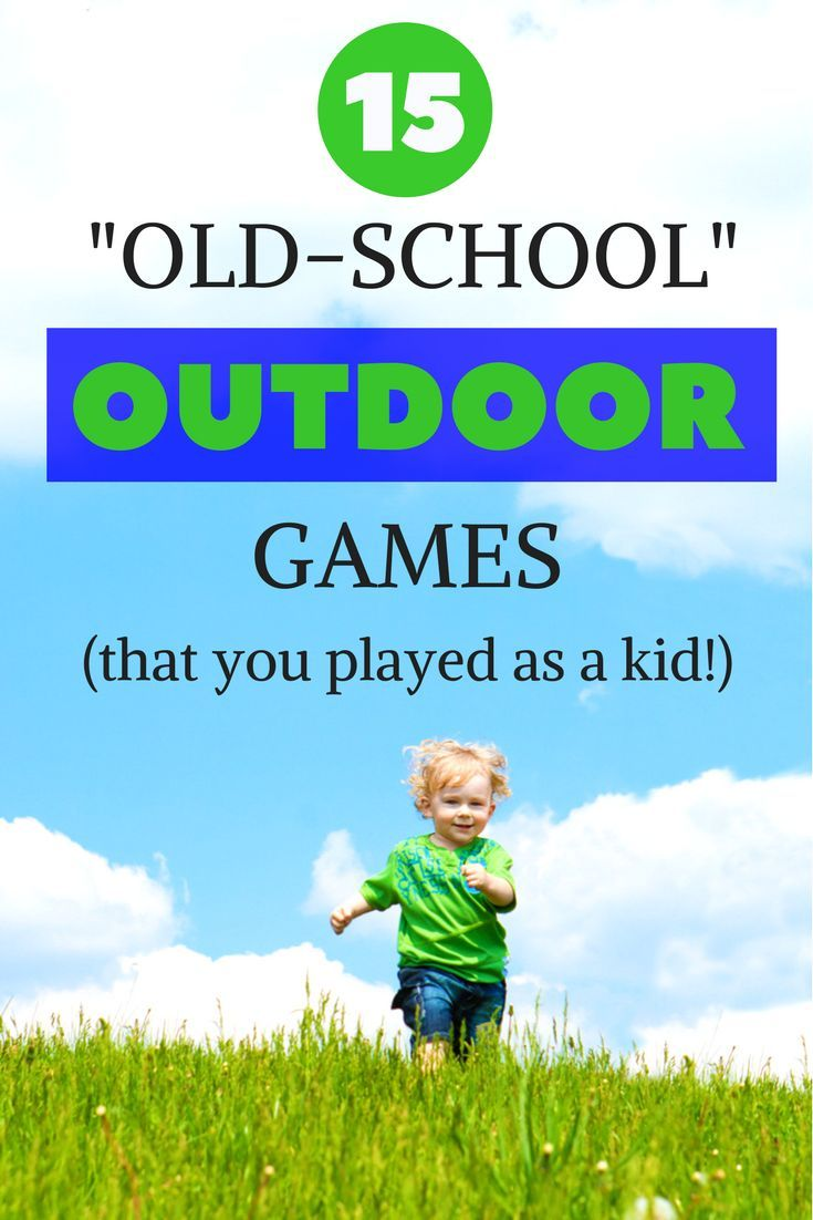 Old fashioned games to play outside 16