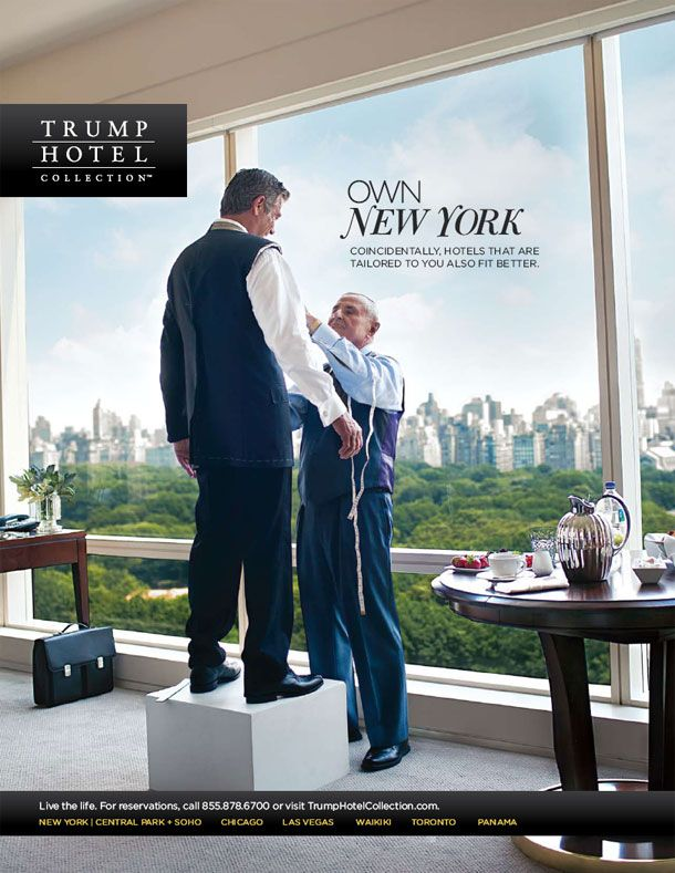 Trump Hotel Collection brand campaign developed by MMGY ...