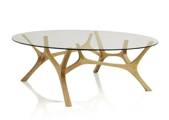 Coffee Table O Elk Organic Shape And Pure Form Decorative Table Legs