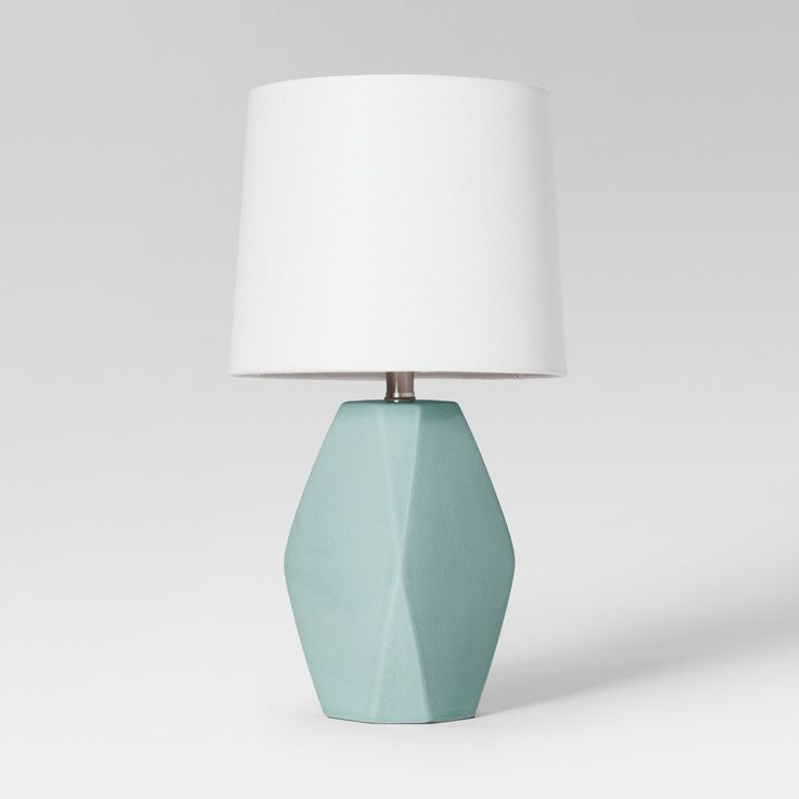 Target Home Accessory Fav S Mint And Green In 2020 White Lamp Shade Table Lamp Lamp