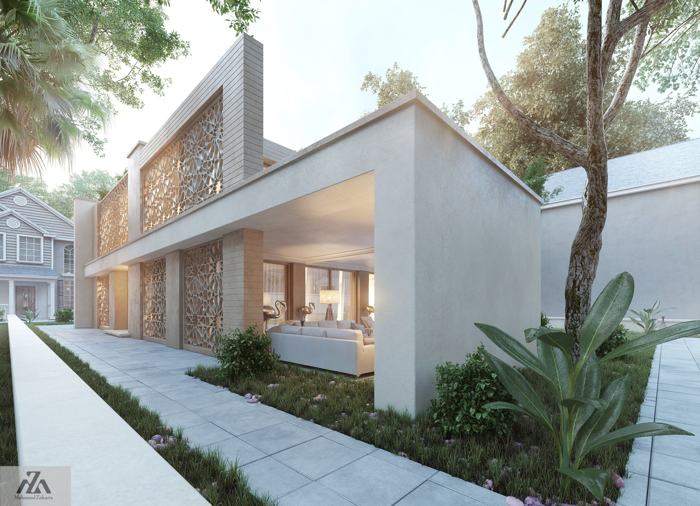 Arabic Modern House By Mohamed Zakaria Design Ideas I Think Have My ...
