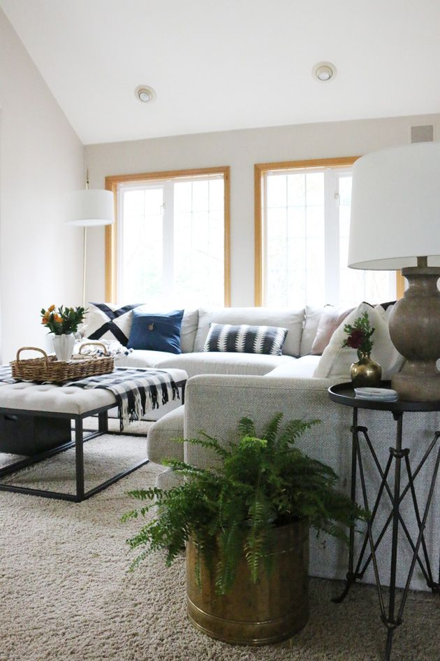 Photo of The Family Room Sectional was our best choice yet | Jones Design Company