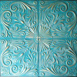 Cuadro Para Sof Salones Realizado En Textura De Estuco
