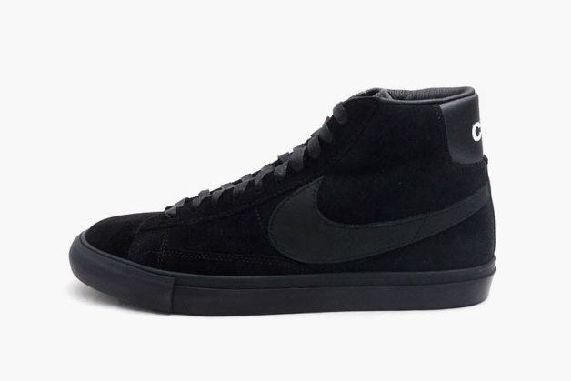 BLACK COMME des GARCONS x Nike Blazer High Premium CDG SP | His ...