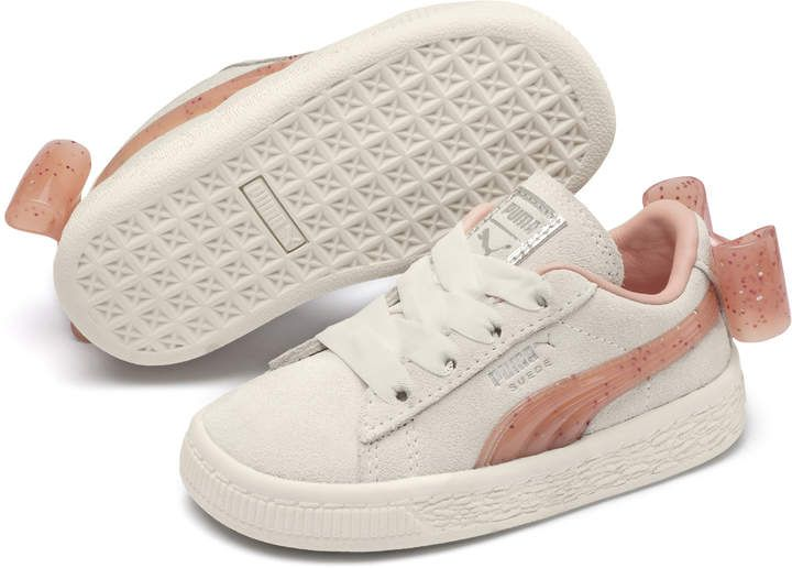 Suede Jelly Bow AC Toddler Shoes | Puma suede, Sneakers