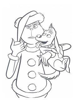 30 Desenhos O Grinch No Natal Para Colorir Pintar Imprimir Com
