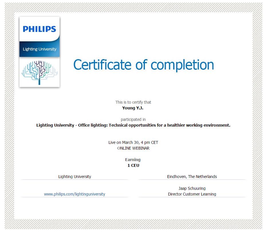 Learning With Philips Lighting University Led