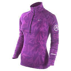 edef10ffab66 Nike sz XS Element Half-Zip Women s Running Shirt Top NEW  70 424838 551