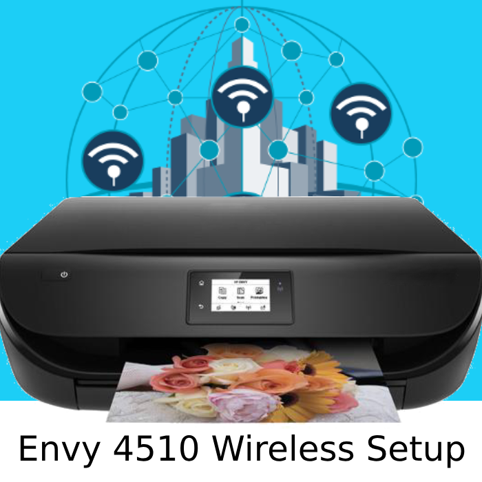 Get guide for hp envy 4510 wireless setup, connect with