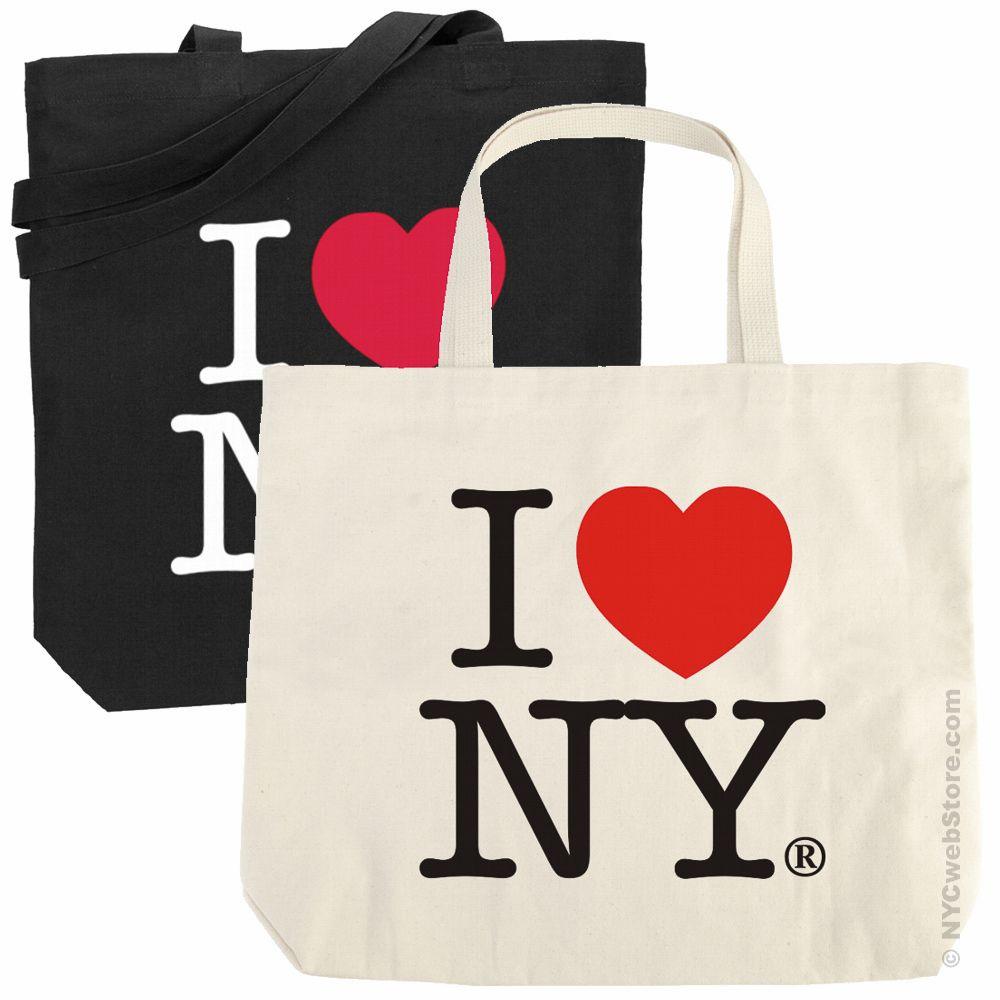 I love ny tote bag natural tote bag i love ny tote bag natural altavistaventures Image collections