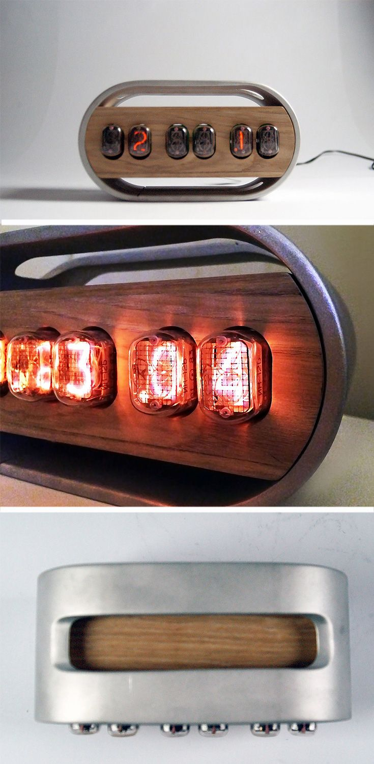 Lizzie Wrights Take On The Vintage Find Merges Modern Finishes With Tube Clock Further Nixie Schematic Classic