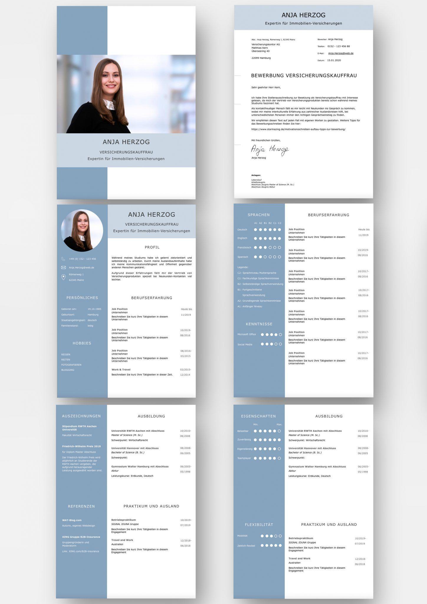 Muster Vorlagen Kostenlos Herunterladen Bewerbung 11