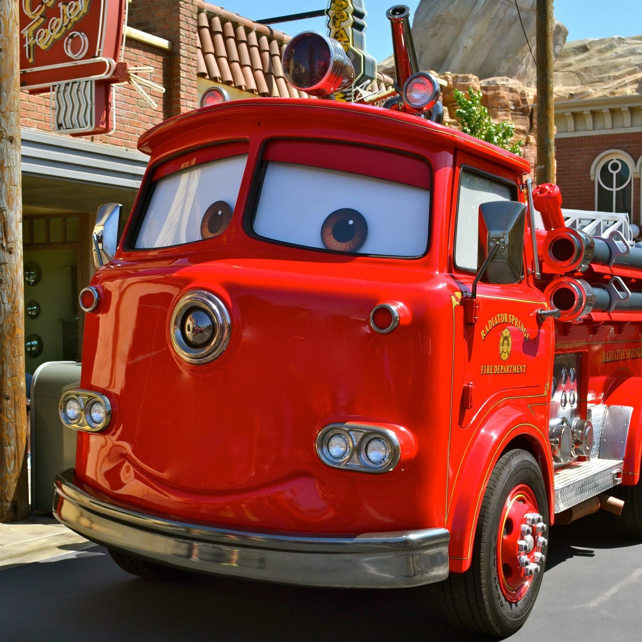 Cars Land - Vintage Disneyland