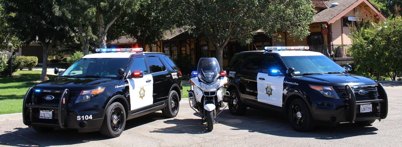 Fresno Police cars, Police dept, Police