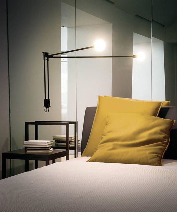 Nemo Potence Pivotante The Pioneering Cantilevered Lamp Designed By Charlotteperri Contemporary Designers Furniture Wall Lamp Design Wall Lamp Lamp Design
