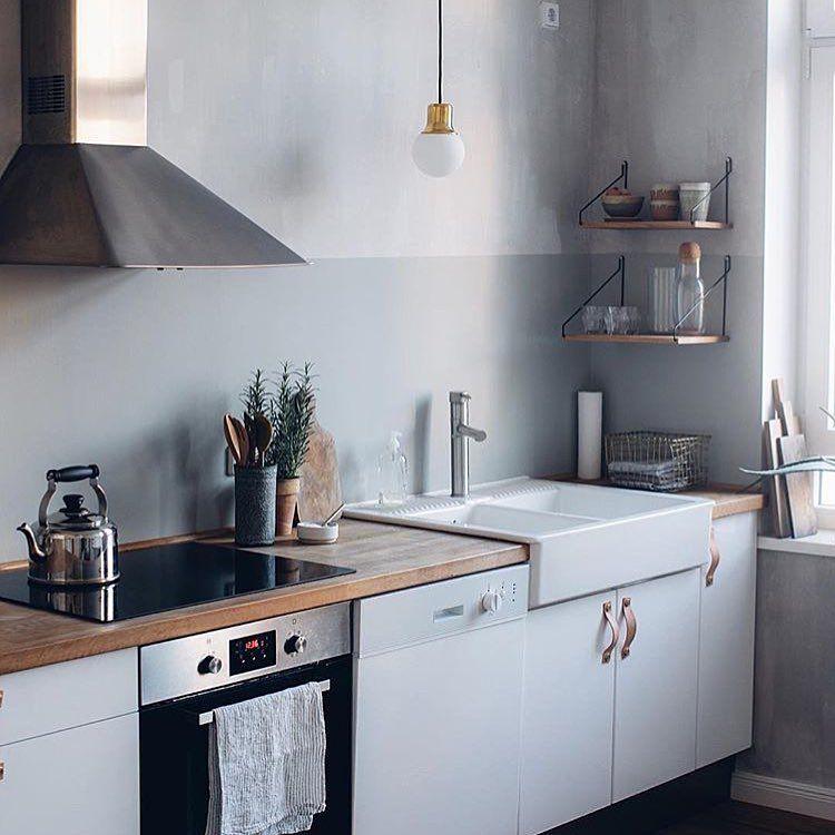Küchenblick. Welche Wandfarbe hat deine Küche? www.kolorat.de ...