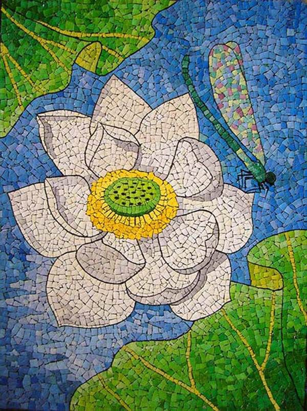 eggshell mosaic art ideas to reuse eggshells after