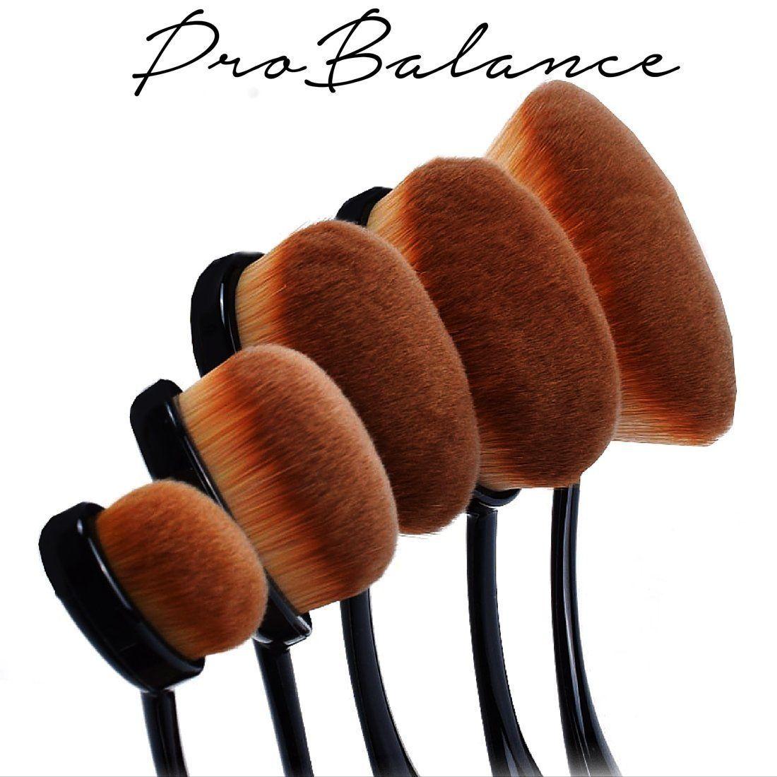 0b9c7ee6730e Great Gift Idea makeup brushes Professional Pro Balance Soft Rose ...