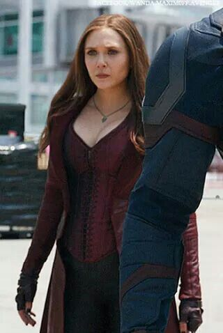 Wanda Maximoff Civilwar Scarlet Witch Cosplay Scarlet Witch Marvel Elizabeth Olsen Scarlet Witch