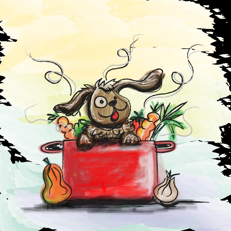 de hond in de pot vinden | spreekwoorden - character, fictional